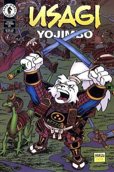 Usagi Yojimbo #23 Comic Books - Covers, Scans, Photos  in Usagi Yojimbo Comic Books - Covers, Scans, Gallery