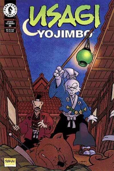Usagi Yojimbo #26 Comic Books - Covers, Scans, Photos  in Usagi Yojimbo Comic Books - Covers, Scans, Gallery