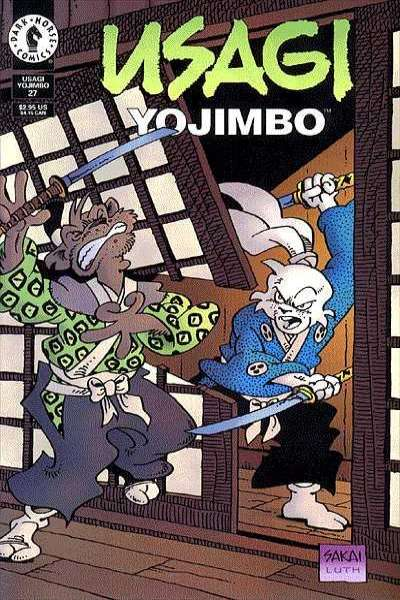 Usagi Yojimbo #27 Comic Books - Covers, Scans, Photos  in Usagi Yojimbo Comic Books - Covers, Scans, Gallery