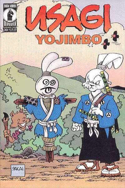 Usagi Yojimbo #30 comic books for sale