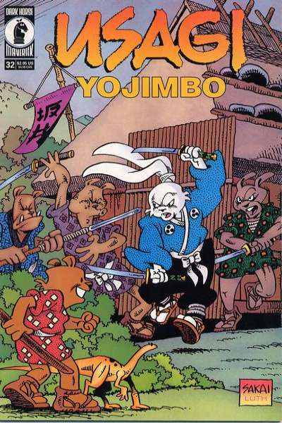 Usagi Yojimbo #32 Comic Books - Covers, Scans, Photos  in Usagi Yojimbo Comic Books - Covers, Scans, Gallery