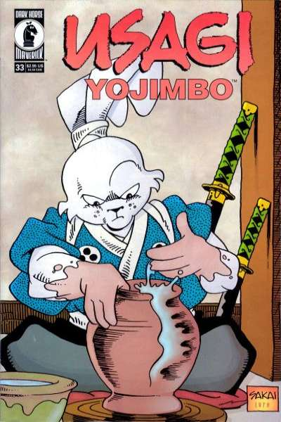 Usagi Yojimbo #33 Comic Books - Covers, Scans, Photos  in Usagi Yojimbo Comic Books - Covers, Scans, Gallery