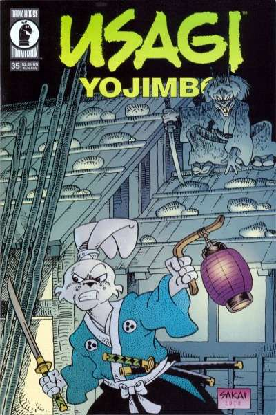 Usagi Yojimbo #35 Comic Books - Covers, Scans, Photos  in Usagi Yojimbo Comic Books - Covers, Scans, Gallery