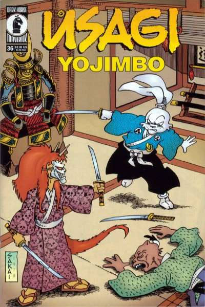 Usagi Yojimbo #36 Comic Books - Covers, Scans, Photos  in Usagi Yojimbo Comic Books - Covers, Scans, Gallery