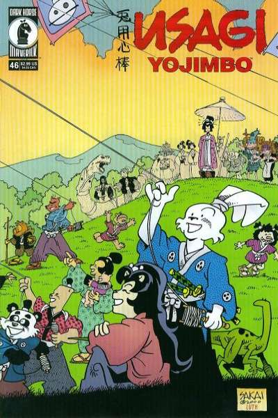 Usagi Yojimbo #46 Comic Books - Covers, Scans, Photos  in Usagi Yojimbo Comic Books - Covers, Scans, Gallery