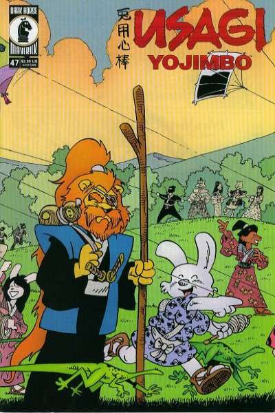 Usagi Yojimbo #47 Comic Books - Covers, Scans, Photos  in Usagi Yojimbo Comic Books - Covers, Scans, Gallery