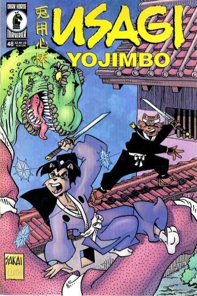 Usagi Yojimbo #48 Comic Books - Covers, Scans, Photos  in Usagi Yojimbo Comic Books - Covers, Scans, Gallery