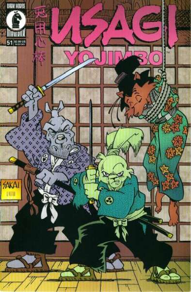 Usagi Yojimbo #51 Comic Books - Covers, Scans, Photos  in Usagi Yojimbo Comic Books - Covers, Scans, Gallery