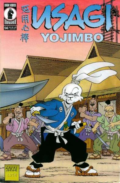 Usagi Yojimbo #56 Comic Books - Covers, Scans, Photos  in Usagi Yojimbo Comic Books - Covers, Scans, Gallery