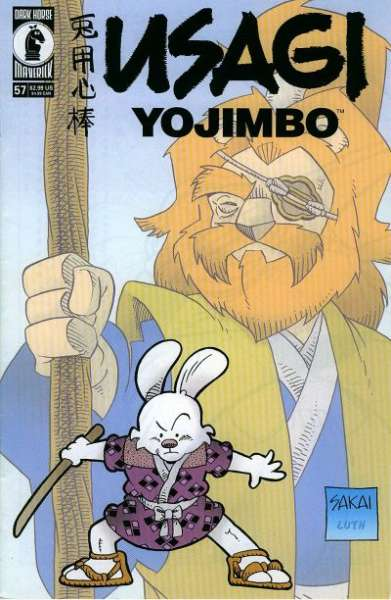 Usagi Yojimbo #57 Comic Books - Covers, Scans, Photos  in Usagi Yojimbo Comic Books - Covers, Scans, Gallery