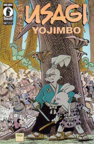 Usagi Yojimbo #58 Comic Books - Covers, Scans, Photos  in Usagi Yojimbo Comic Books - Covers, Scans, Gallery