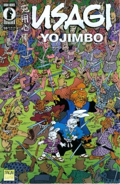 Usagi Yojimbo #59 Comic Books - Covers, Scans, Photos  in Usagi Yojimbo Comic Books - Covers, Scans, Gallery
