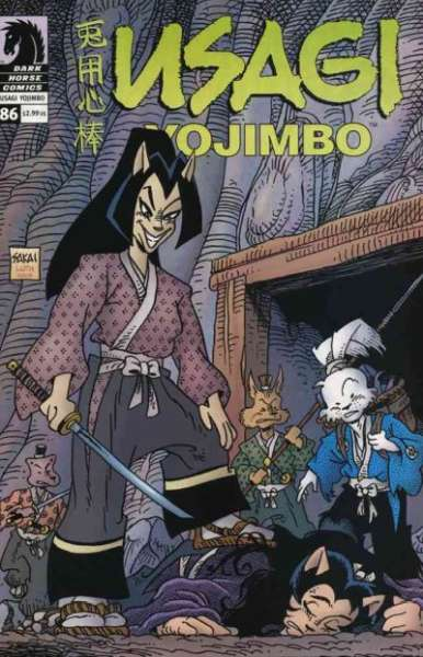 Usagi Yojimbo #86 comic books for sale