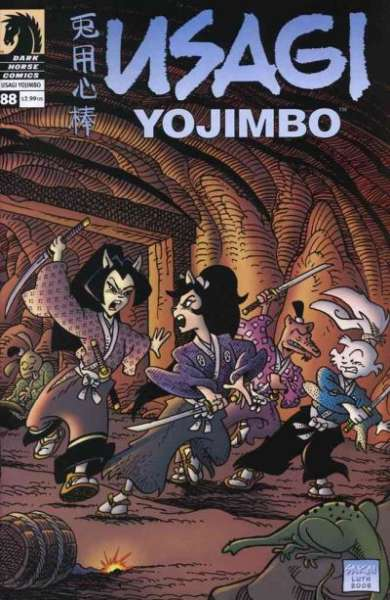Usagi Yojimbo #88 Comic Books - Covers, Scans, Photos  in Usagi Yojimbo Comic Books - Covers, Scans, Gallery