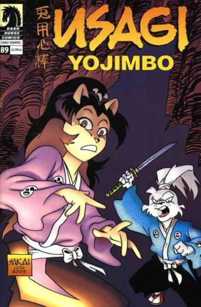 Usagi Yojimbo #89 Comic Books - Covers, Scans, Photos  in Usagi Yojimbo Comic Books - Covers, Scans, Gallery