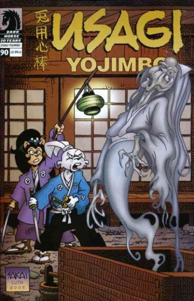 Usagi Yojimbo #90 Comic Books - Covers, Scans, Photos  in Usagi Yojimbo Comic Books - Covers, Scans, Gallery