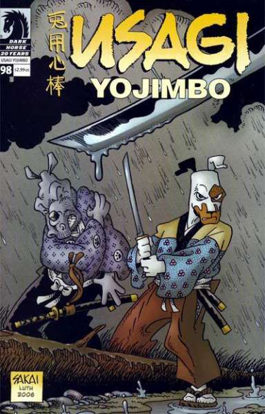 Usagi Yojimbo #98 Comic Books - Covers, Scans, Photos  in Usagi Yojimbo Comic Books - Covers, Scans, Gallery