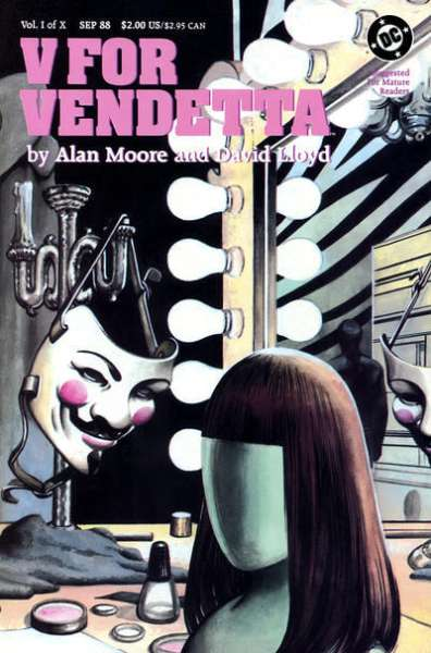 V for Vendetta Comic Books. V for Vendetta Comics.