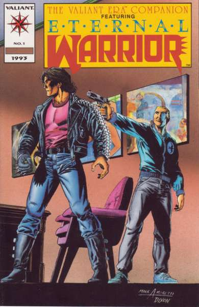 Valiant Era Companion comic books