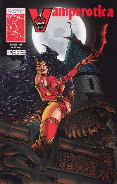 Vamperotica #7 comic books for sale