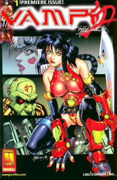 Vampi: Switchblade Kiss Comic Books. Vampi: Switchblade Kiss Comics.