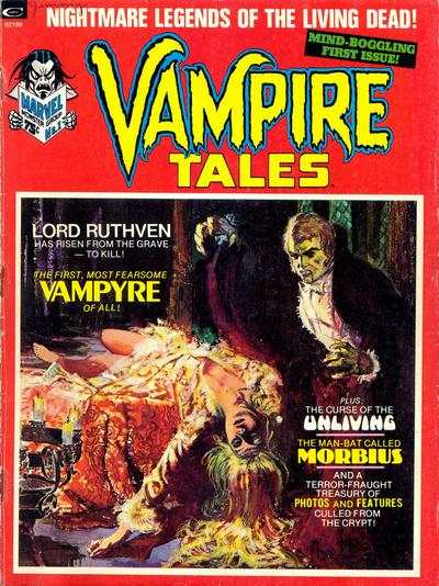 Vampire Tales #1 comic books - cover scans photos Vampire Tales #1 comic books - covers, picture gallery