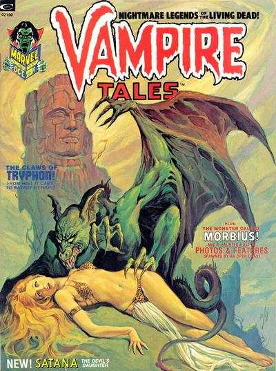 Vampire Tales #2 comic books - cover scans photos Vampire Tales #2 comic books - covers, picture gallery