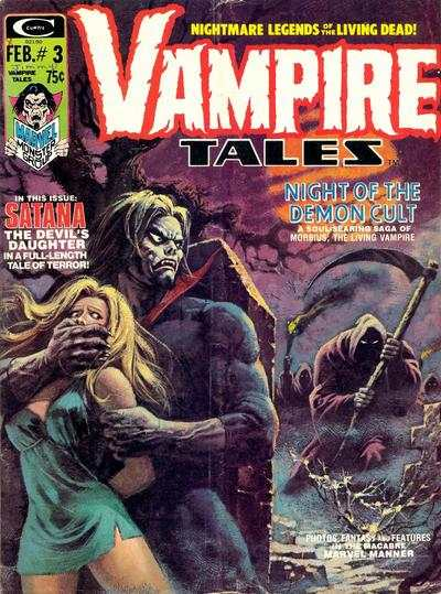 Vampire Tales #3 comic books - cover scans photos Vampire Tales #3 comic books - covers, picture gallery