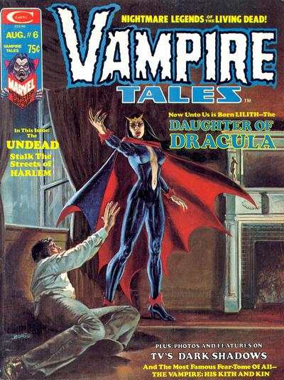 Vampire Tales #6 comic books - cover scans photos Vampire Tales #6 comic books - covers, picture gallery