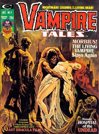 Vampire Tales #7 comic books - cover scans photos Vampire Tales #7 comic books - covers, picture gallery