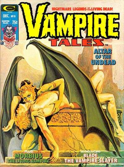 Vampire Tales #8 comic books - cover scans photos Vampire Tales #8 comic books - covers, picture gallery