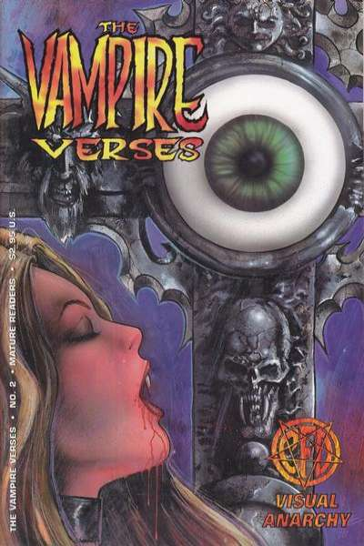 Vampire Verses #2 comic books - cover scans photos Vampire Verses #2 comic books - covers, picture gallery