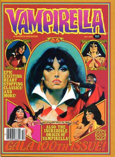 Vampirella #100 comic books for sale