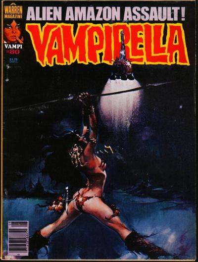 Vampirella #80 comic books for sale