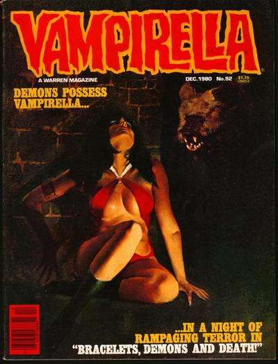 Vampirella #92 comic books for sale