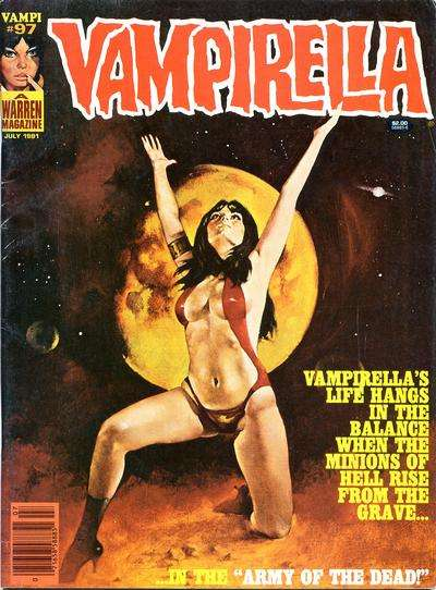 Vampirella #97 comic books for sale
