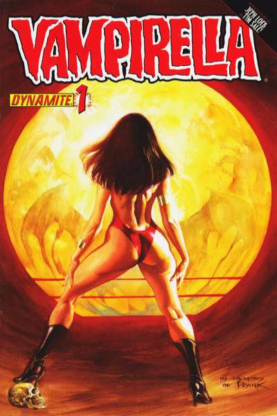 Vampirella comic books