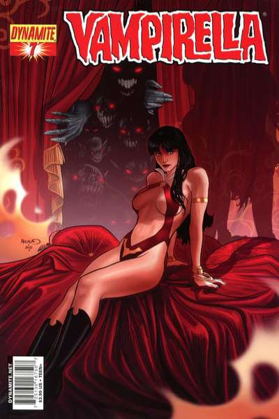 Vampirella #7 Comic Books - Covers, Scans, Photos  in Vampirella Comic Books - Covers, Scans, Gallery