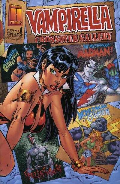 Vampirella: Crossover Gallery comic books