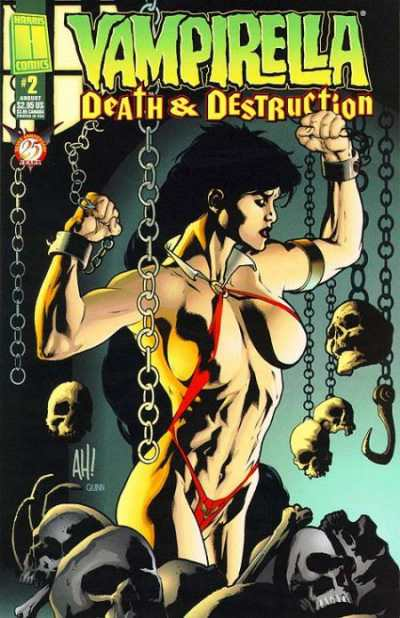 Vampirella: Death & Destruction #2 Comic Books - Covers, Scans, Photos  in Vampirella: Death & Destruction Comic Books - Covers, Scans, Gallery