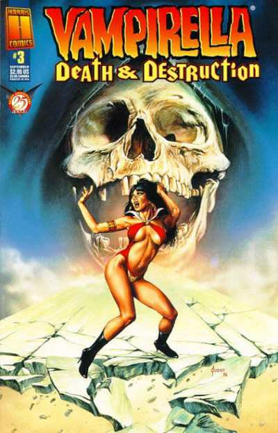 Vampirella: Death & Destruction #3 comic books - cover scans photos Vampirella: Death & Destruction #3 comic books - covers, picture gallery