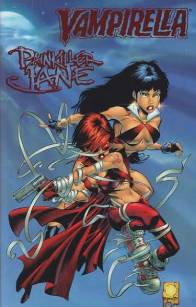Vampirella/Painkiller Jane comic books