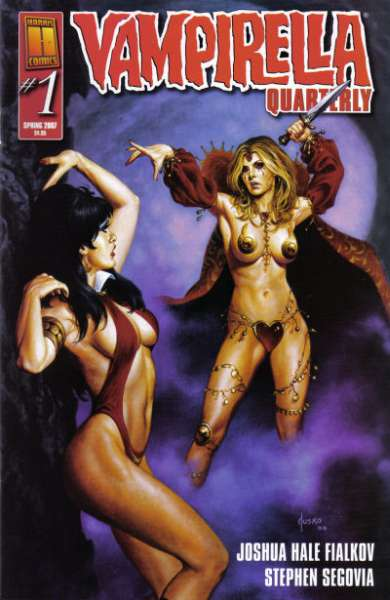 Vampirella Quarterly comic books