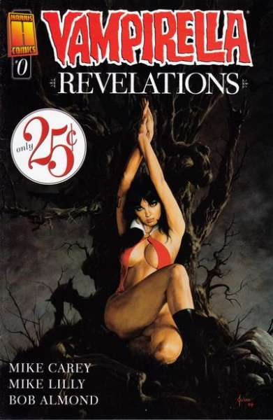 Vampirella: Revelations #0 comic books - cover scans photos Vampirella: Revelations #0 comic books - covers, picture gallery