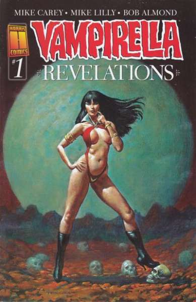 Vampirella: Revelations #1 comic books - cover scans photos Vampirella: Revelations #1 comic books - covers, picture gallery