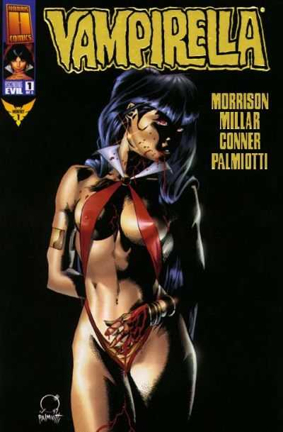 Vampirella The New Monthly Comic Books. Vampirella The New Monthly Comics.