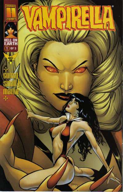 Vampirella The New Monthly #10 Comic Books - Covers, Scans, Photos  in Vampirella The New Monthly Comic Books - Covers, Scans, Gallery