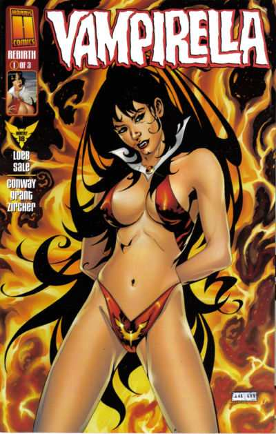 Vampirella The New Monthly #18 Comic Books - Covers, Scans, Photos  in Vampirella The New Monthly Comic Books - Covers, Scans, Gallery