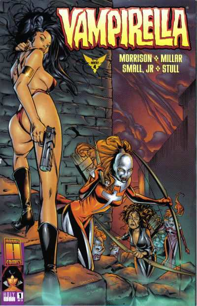 Vampirella The New Monthly #4 comic books - cover scans photos Vampirella The New Monthly #4 comic books - covers, picture gallery