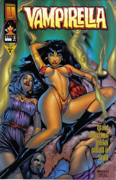 Vampirella The New Monthly #6 Comic Books - Covers, Scans, Photos  in Vampirella The New Monthly Comic Books - Covers, Scans, Gallery